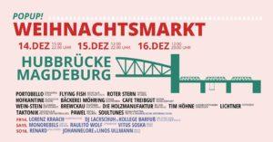 Einladung Zum Auftakt Popup Weihnachtsmarkt Hubbrucke